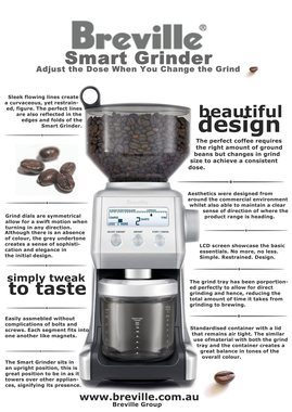 Breville Coffee Grinder Summary