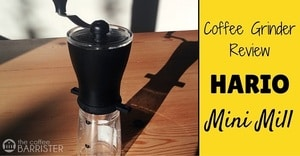 Hario Coffee Mill Slim Grinder Review