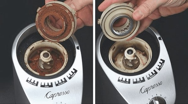 Capresso_Burrs_Before_After_Clean