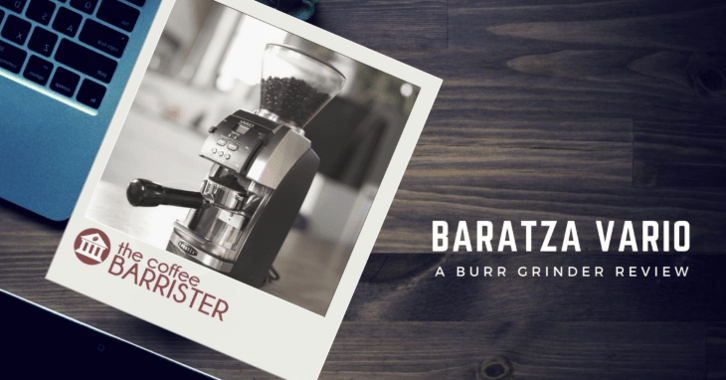 Baratza Vario Ceramic Burr Coffee Grinder Feature Image