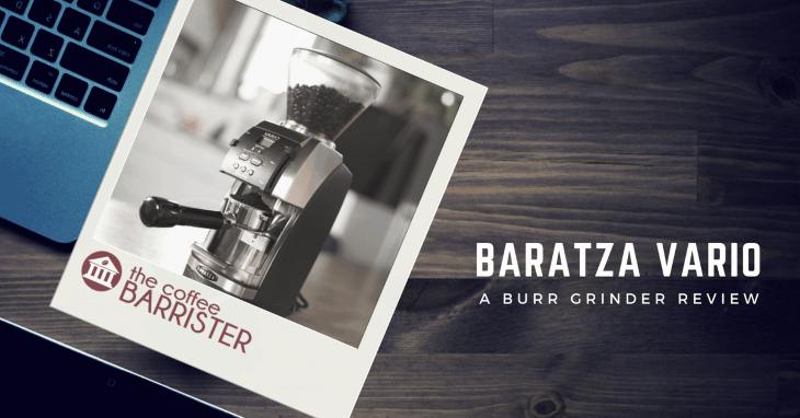 Baratza Vario Ceramic Burr Coffee Grinder [REVIEW]
