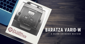 Baratza Vario-W Ceramic Burr Coffee Grinder Feature Image