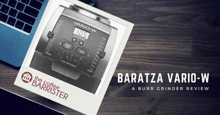 Baratza Vario-W Flat Ceramic Coffee Grinder [REVIEW]