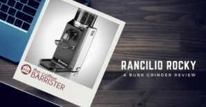 Rancilio Rocky Review Feature Image