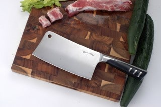 7 Inch Stainless Steel Cleaver Butcher's Knife