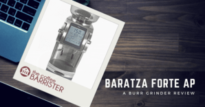 Baratza Forte AP Ceramic Burr Coffee Grinder Feature Image