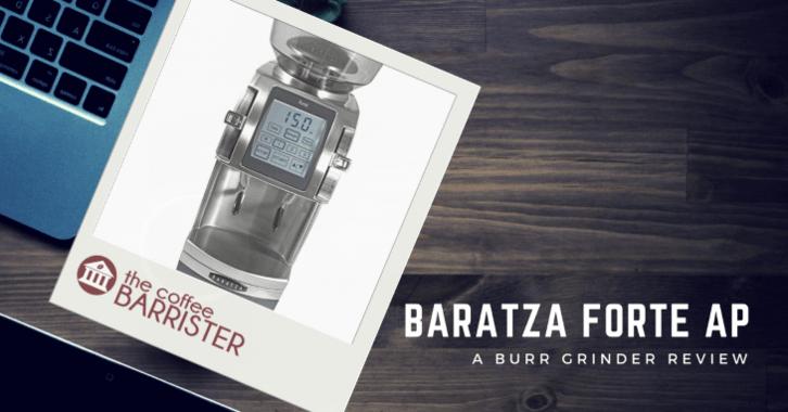 Baratza Forte AP Ceramic Burr Coffee Grinder Feature Image