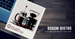 Bodum Bistro Electric Burr Coffee Grinder Feature Image