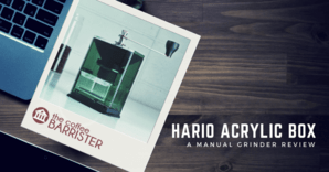 Hario Clear Acrylic Box Coffee Grinder Feature Image