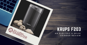 KRUPS F203 Electric Spice & Coffee Grinder