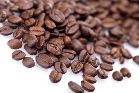Rosted coffee grains