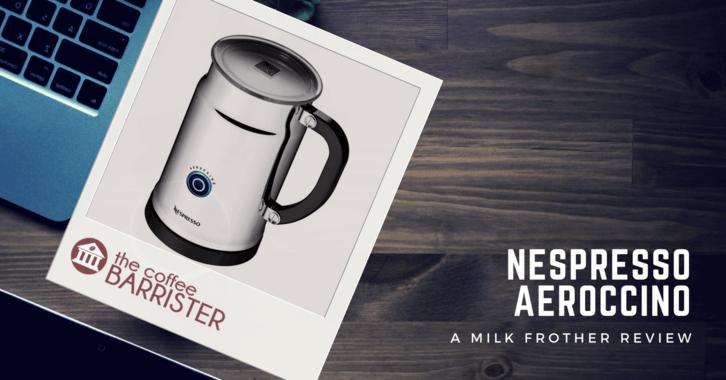 Nespresso Aeroccino 3 Milk Frother