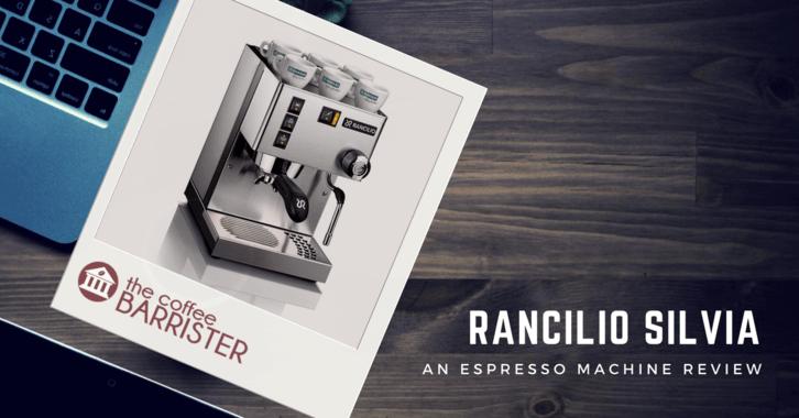 Rancilio Silvia Coffee Espresso Machine
